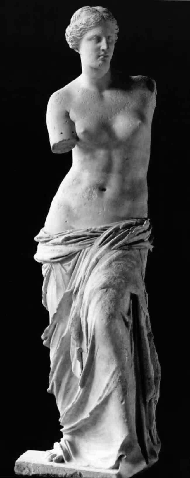 senoo nella scultura classica